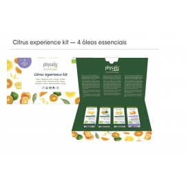 Kit Aromaterapia citrinos